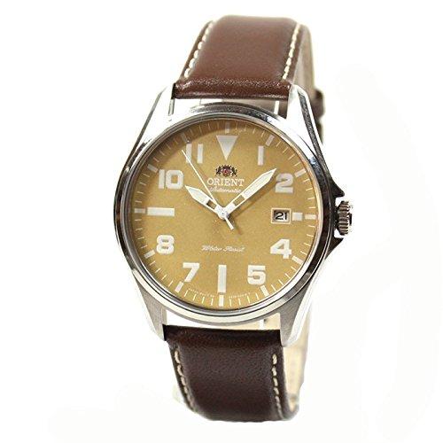 Orient Uhr Classic Automatik brown Datum Leder Herrenarmbanduhr FER2D00AN0
