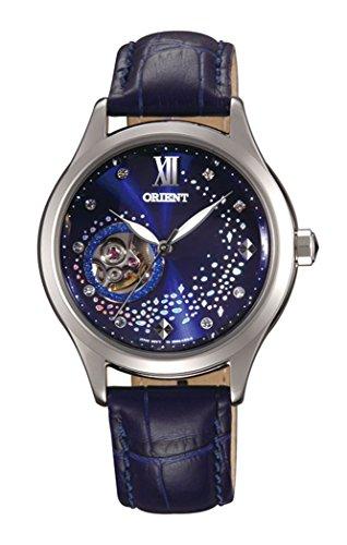 Orient Modische automatische Blue Moon blau Leder Armbanduhr db0 a009d