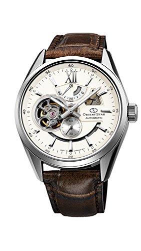Orient Uhr orientstar modernes Skelett Elfenbeinfarben wz0291dk Herren