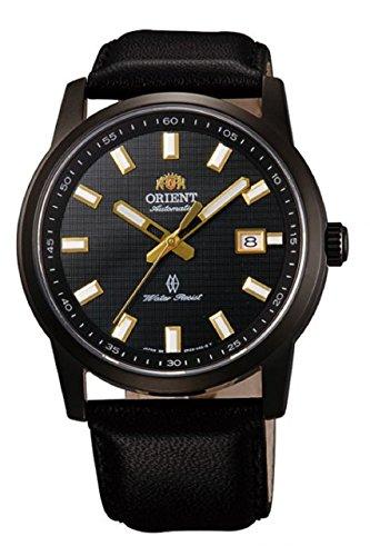 Orient Stilvolle Herren Elegante Leder Armbanduhr fer23001b0