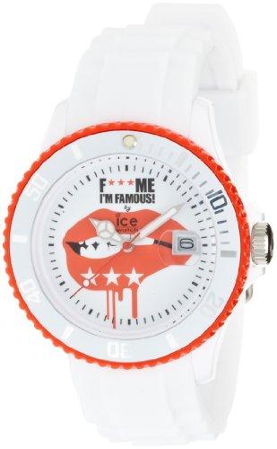 Ice Watch Unisex Armbanduhr F Me Im Famous Analog Quarz Silikon FM SS WEL U S 11
