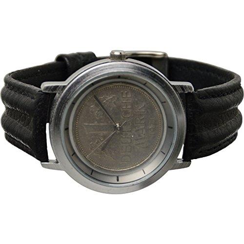 Echte 1 DM Armbanduhr Deutsche Mark 1950 UVP 59 90