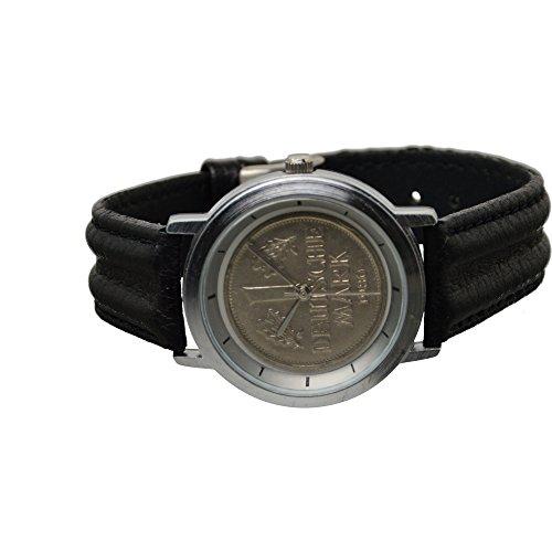 Echte 1 DM Armbanduhr Deutsche Mark 1980 UVP 59 90