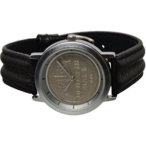 Echte 1 DM Armbanduhr Deutsche Mark 1982 UVP 49 90