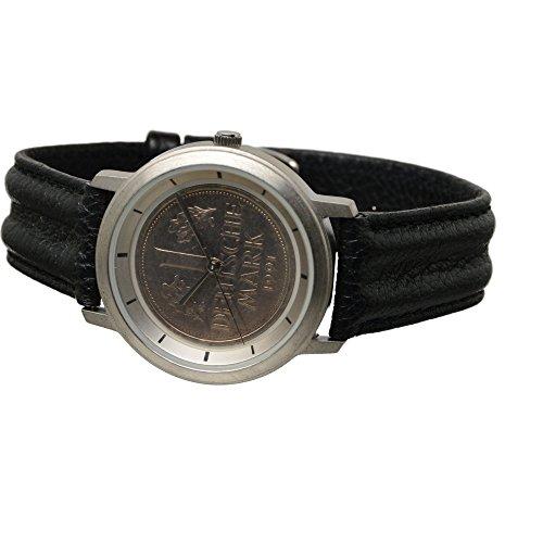 Echte 1 DM Armbanduhr Deutsche Mark 1991 Neu UVP 49 90