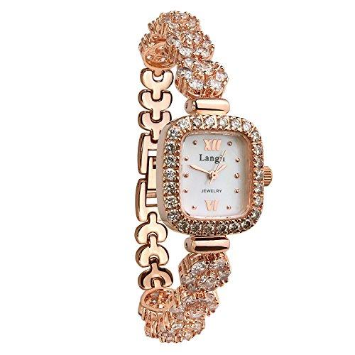 langii lrg1514b21cz Rose Gold Uhren fuer Frauen Japanisches Quarz Uhrwerk