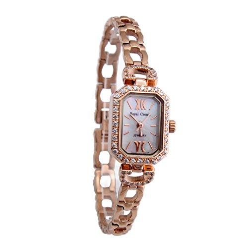 langii rcrg65308b Mutter von Pearl Rose Gold Watch Jewelry Armband Uhren Band