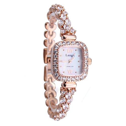 langii lrg1514b16cz Fashion Armband Damen Uhren Perlmutt Zifferblatt