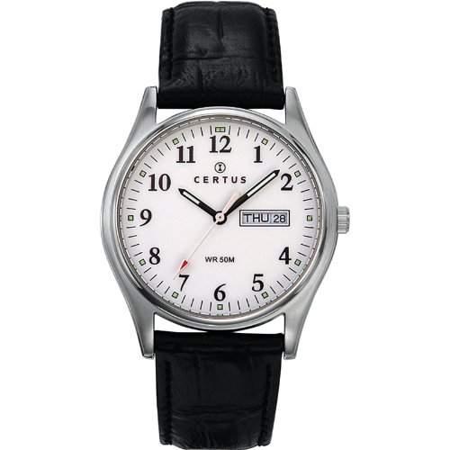 Certus Herren-Armbanduhr Analog Quarz Schwarz 610464