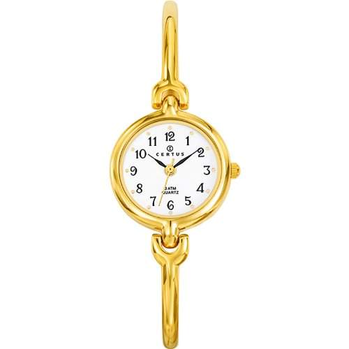Certus Damen-Armbanduhr Analog Quarz Gold 630753