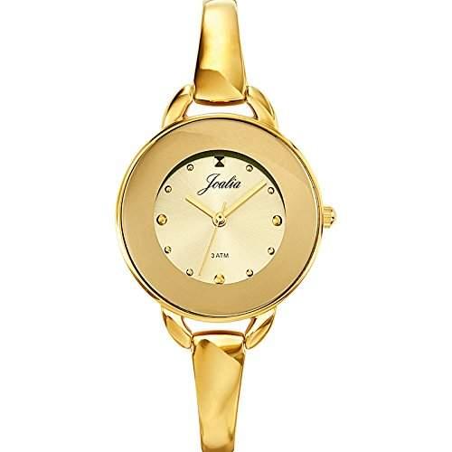 631723-Certus Damen-Armbanduhr Alyce Quarz Analog Metall vergoldet