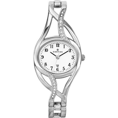 Certus Damen-Armbanduhr Analog silber 633172