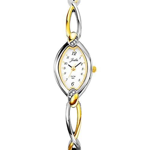 Certus-634230Damen-Armbanduhr 045J699Analog weiss Armband Metall Zweifarbig