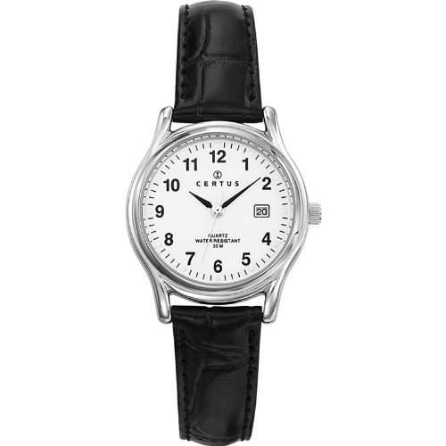 Certus Damen-Armbanduhr Analog Quarz Leder 644385