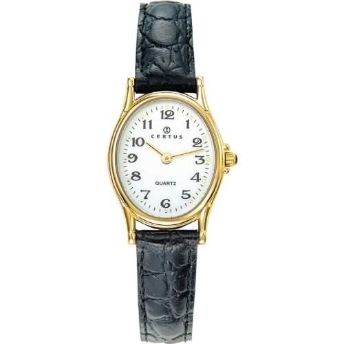 Certus Damen-Armbanduhr Analog Quarz Schwarz 646461
