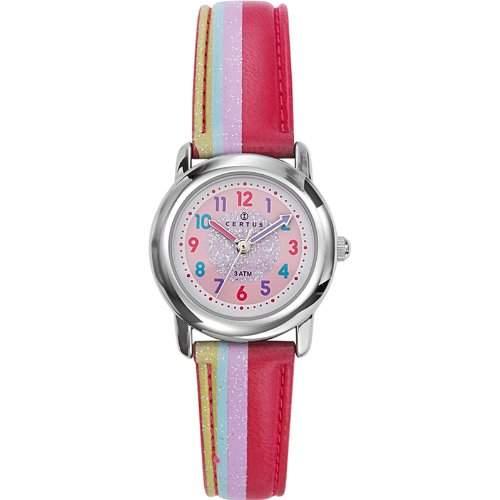 Certus-Comfortkissen-647381-Armbanduhr Analog Quarz Analog watch-pink face-pu strap-pink