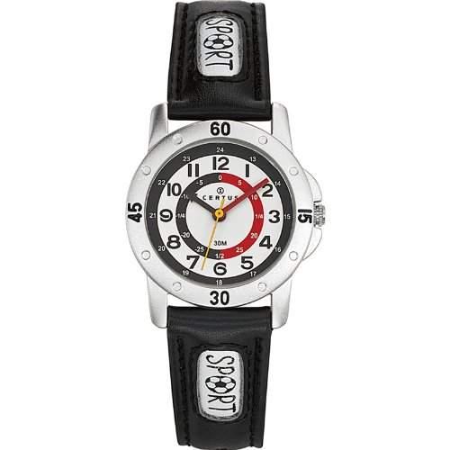Certus Kinder-Armbanduhr Quarz Schwarz 647540