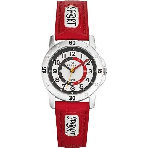 Certus Kinder-Armbanduhr Quarz Rot 647542