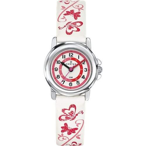 Certus Kinder-Armbanduhr Quarz Weiss 647545
