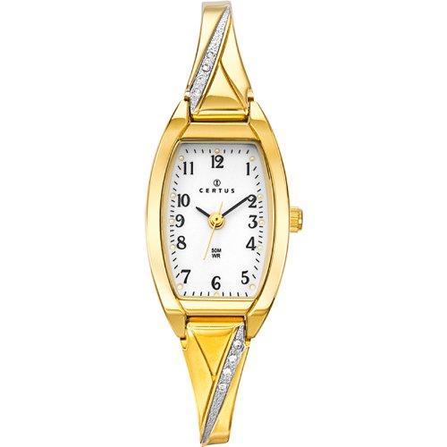 Certus 631755 045J699 Analog weiss Armband Metall gold