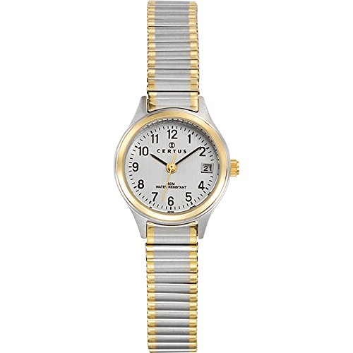Certus Damen Armbanduhr Analog Quarz bicolor mehrfarbig 622552