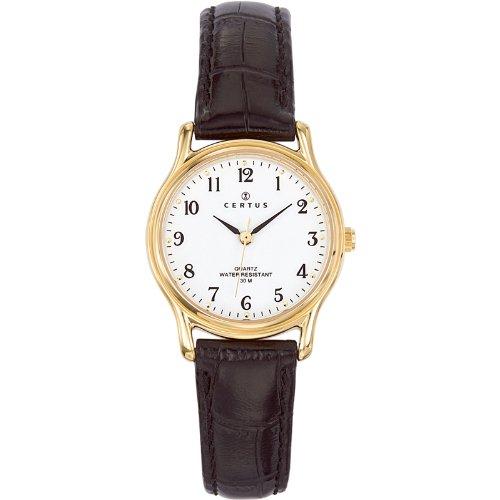 Certus Damen Armbanduhr Analog Quarz Leder 646240