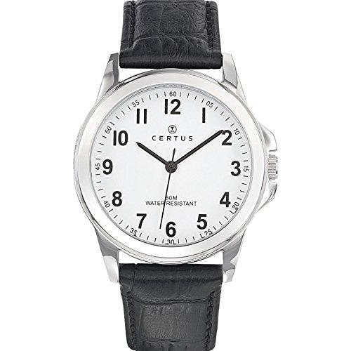 Certus Herren Armbanduhr Analog Quarz Schwarz 610743