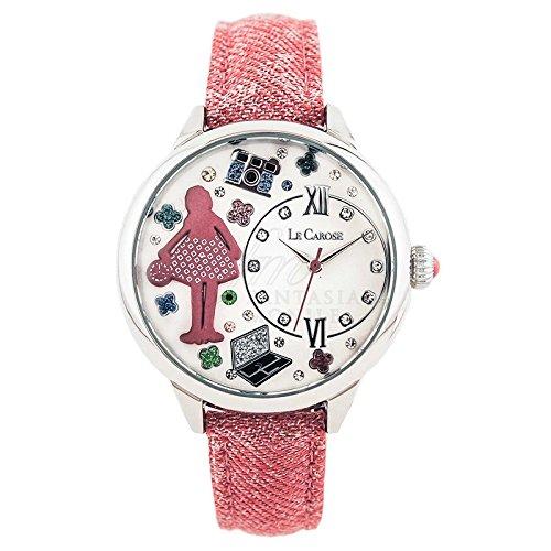 Uhr Damen Le Carose Workers Mestieri Blogger Pink Mood rxqcifm