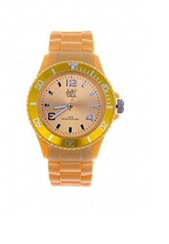 SHOWTIME ARMBANDUHR IN LEMON GELB 40 MM UHR