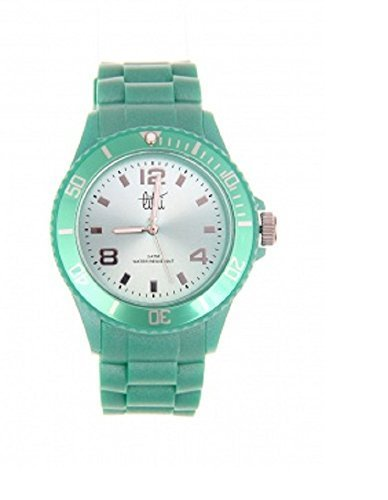 SHOWTIME ARMBANDUHR IN PASTELL GRUEN 40 MM UHR
