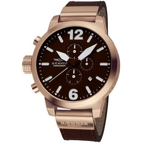 Haemmer Herren Giants II HC 42 Kansas Chronograph 50 mm