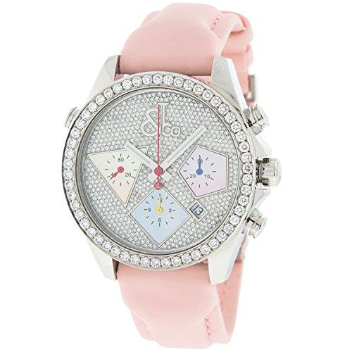 Jacob Co ACM16 Chronograph Edelstahl Diamant Automatik Uhr
