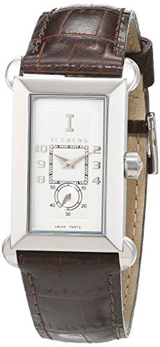 Iceberg Damen Armbanduhr Analog Quarz Leder IC0504 34