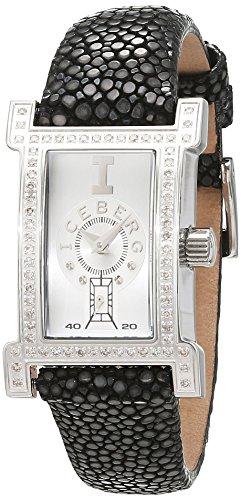Iceberg Damen Armbanduhr Analog Quarz Leder IC0510 12