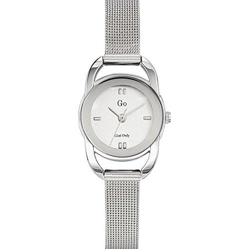 Go Girl Only 694938 Damen Armbanduhr 045J699 Analog silber Armband Stahl Silber