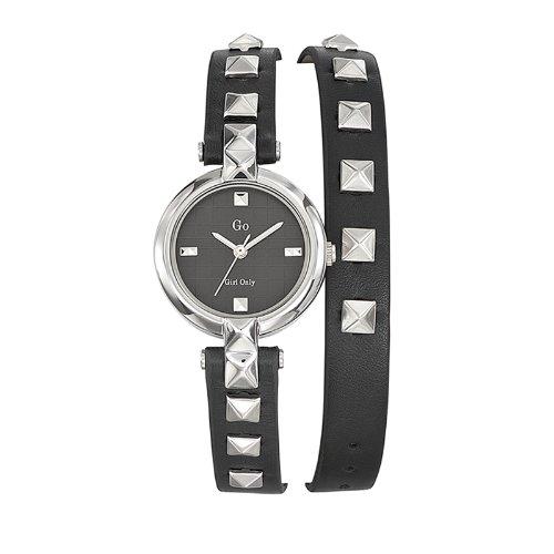 Go Girl Only Damen Armbanduhr Analog Quarz Leder 698385