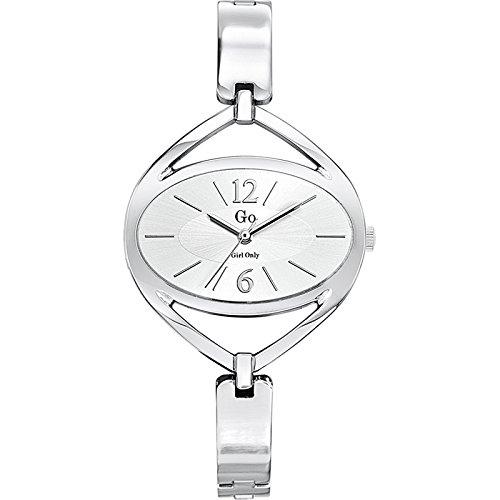 GO Girl Only 694778 Armbanduhr Damen Metall Farbe Silber