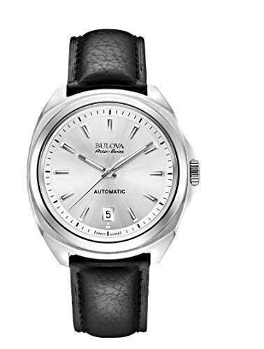 Bulova Herren-Armbanduhr Analog Automatik Leder 63B184