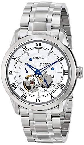 Bulova Herren-Armbanduhr Analog Automatik 96A118