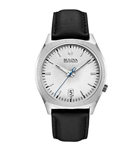 Bulova Accutron 2 Unisex-Armbanduhr Analog Quarz Leder 96B213