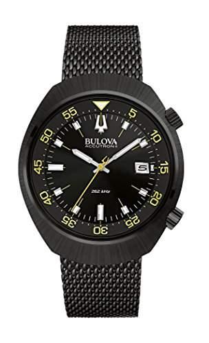 Bulova unisex-Armbanduhr Lobster Analog Quarz Edelstahl beschichtet 98B247