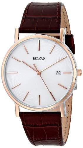 Bulova Herren-Armbanduhr Dress Analog Quarz 98H51