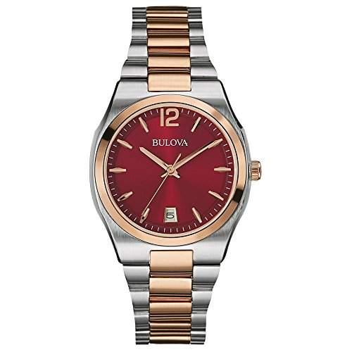 Bulova Damen-Armbanduhr Dress Analog Quarz Edelstahl 98M119