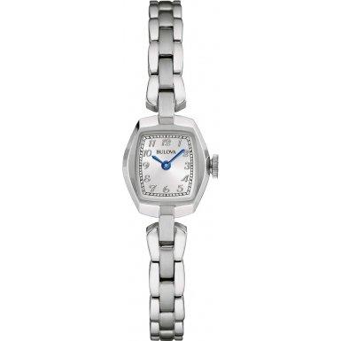 Bulova Damen Armbanduhr Analog Quarz Edelstahl 96L221