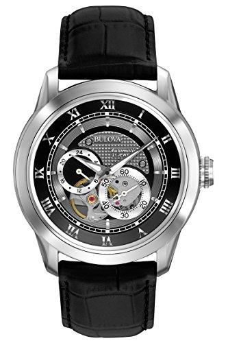 Bulova Herren Armbanduhr 96A135 Analog Automatik 96A135