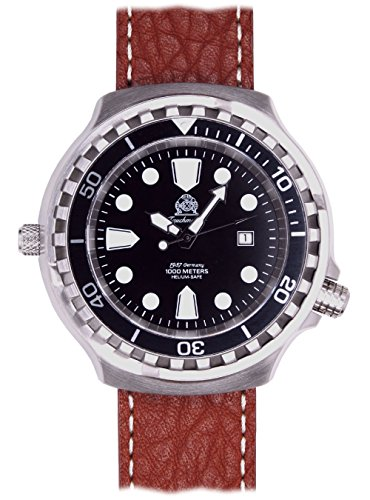 52mm Markante und trendige Automatik Uhr Tauchmeister Spezial Edition T0254 B
