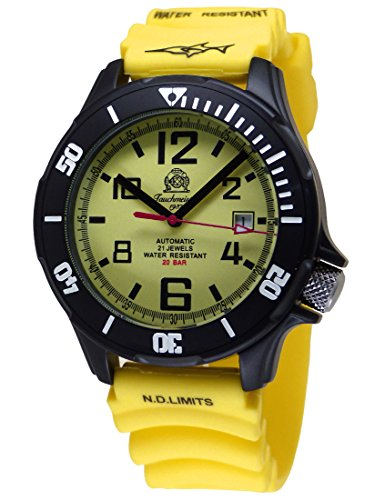 Tauchmeister Automatik Uhr mit Japan MIY 8215 Werk 20bar T0222Y