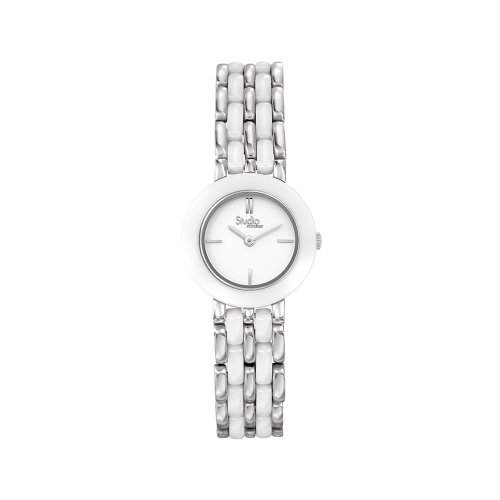 Fontenay Damen-Armbanduhr Analog Quarz Weiss 215QCWWCW