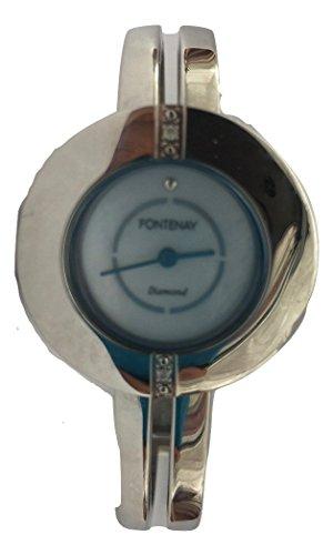 Fontenay Analog Quarz doppelt Diamant Armband