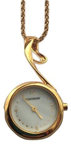 Fontenay 18 kt Gold vergoldet Anhaenger mit Kette